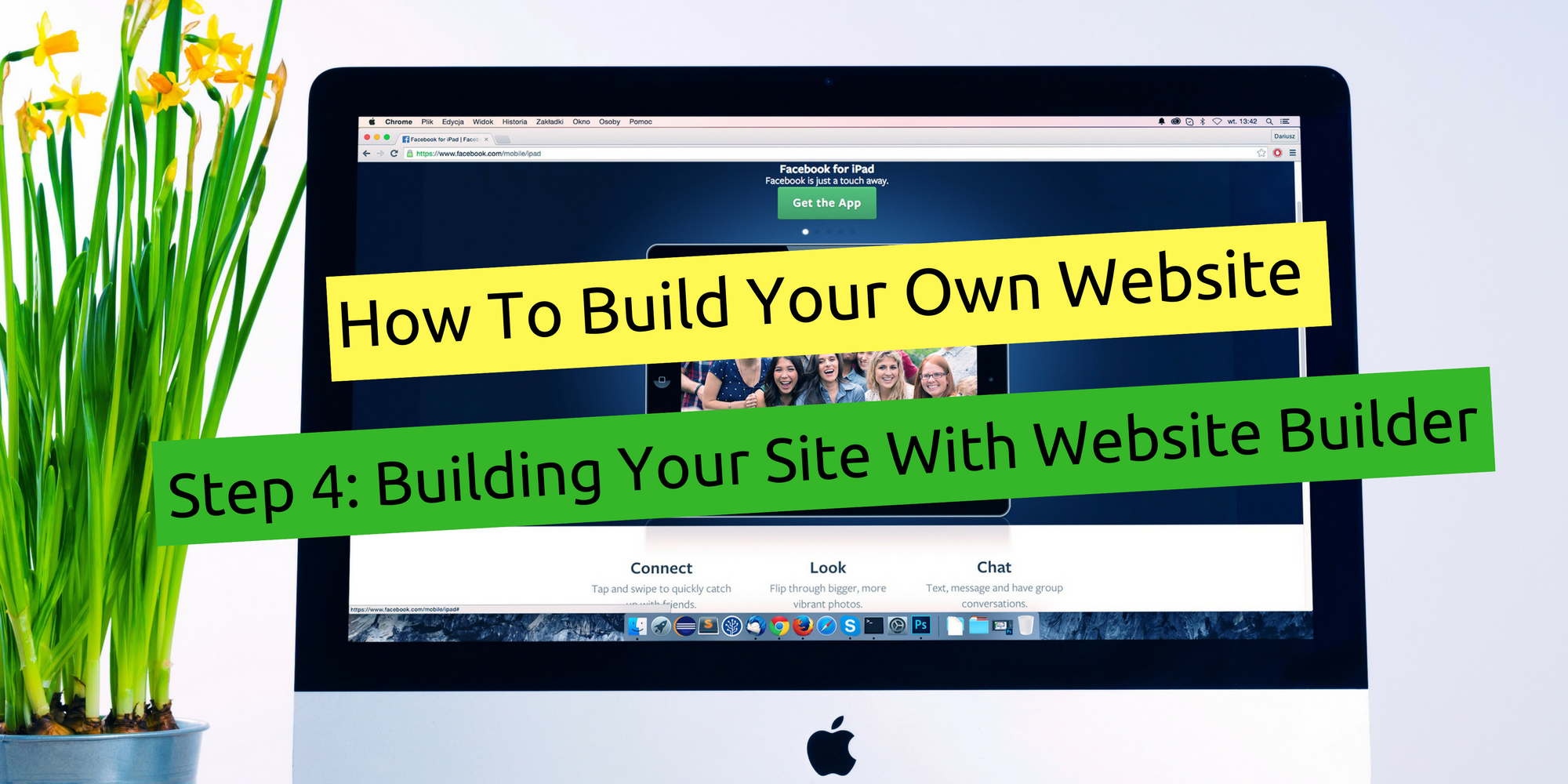 How To Build Your Own Website Step 4 Building Your